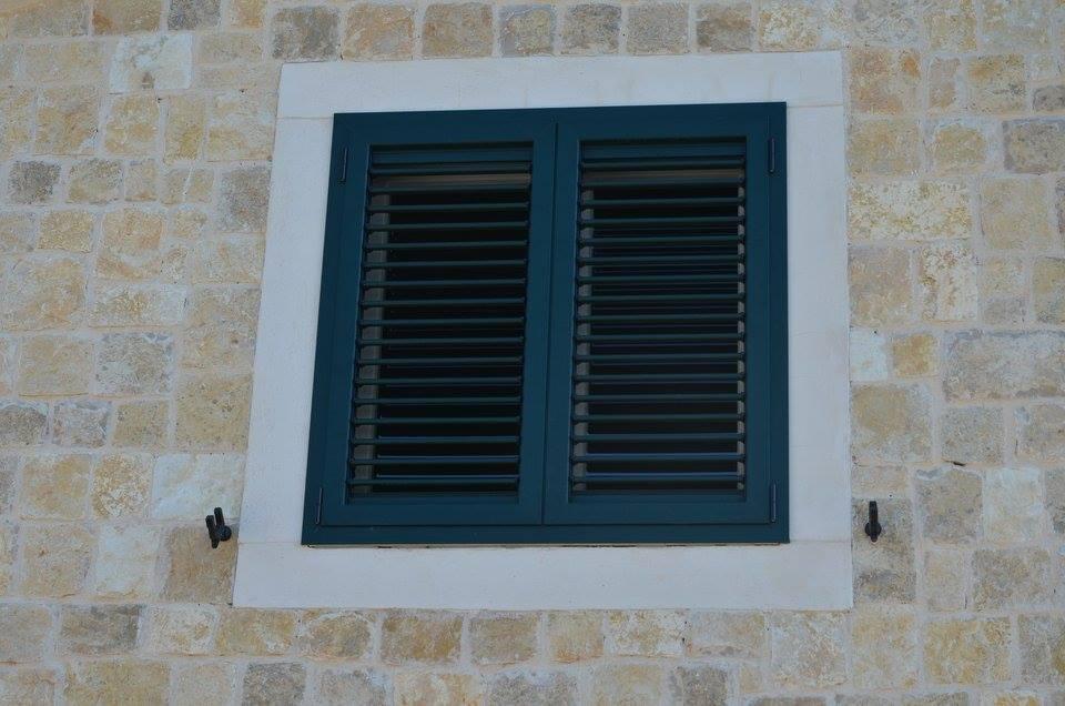 Aluminijska zelena fasadna 10