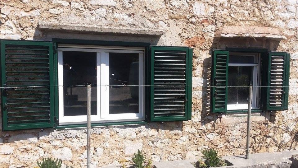 Aluminijska zelena fasadna 4
