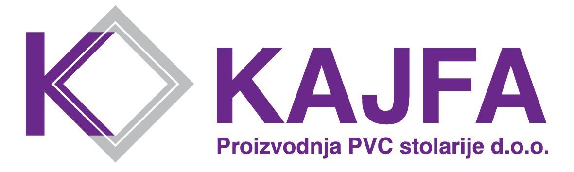 Kajfa proizvodnja PVC stolarije d.o.o