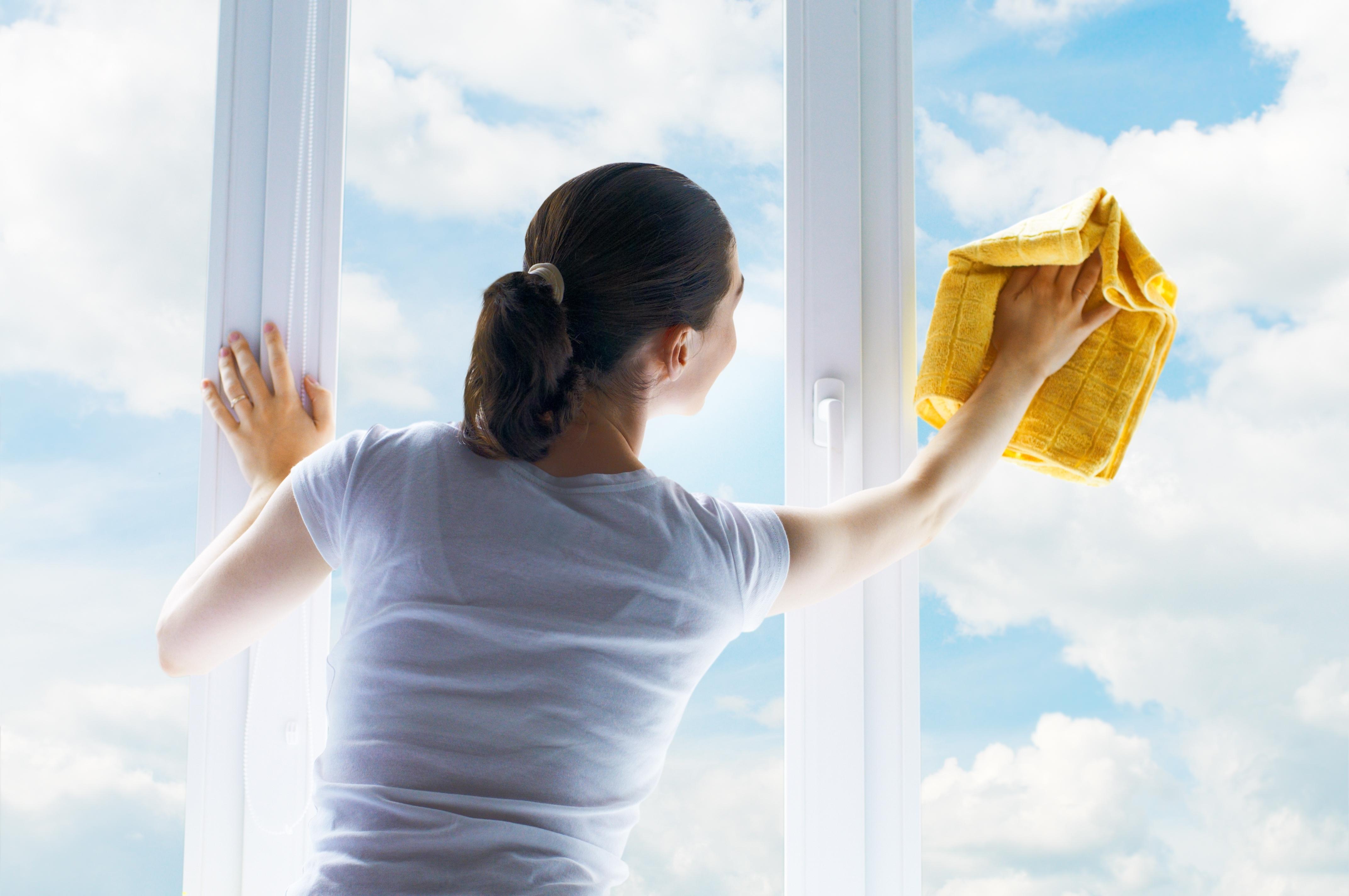 Tipps zur Pflege von Kunststofffenstern