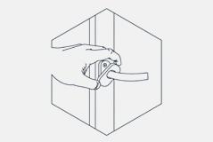 Description: Cleaning PVC - Tighten handles!